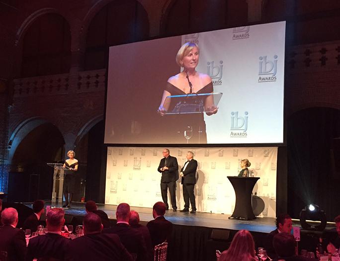 Madeleine Paquin, lauréate du prix Entrepreneur de l'année de l'International Bulk Journal