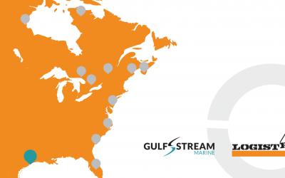 LOGISTEC annonce l'acquisition stratégique de Gulf Stream Marine
