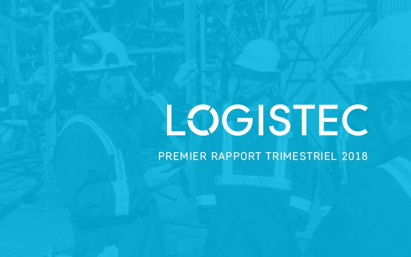 LOGISTEC annonce ses résultats du premier trimestre 2018