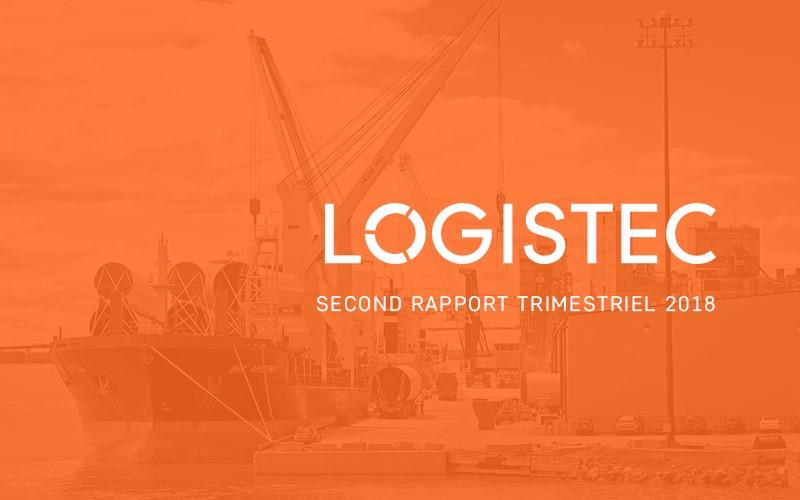 LOGISTEC annonce ses résultats du deuxième trimestre de 2018