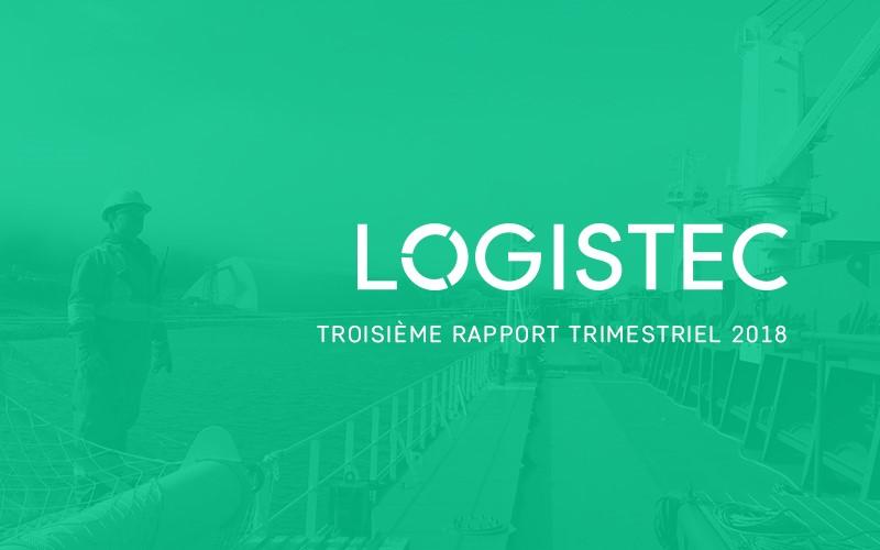 LOGISTEC annonce ses résultats du troisième trimestre de 2018