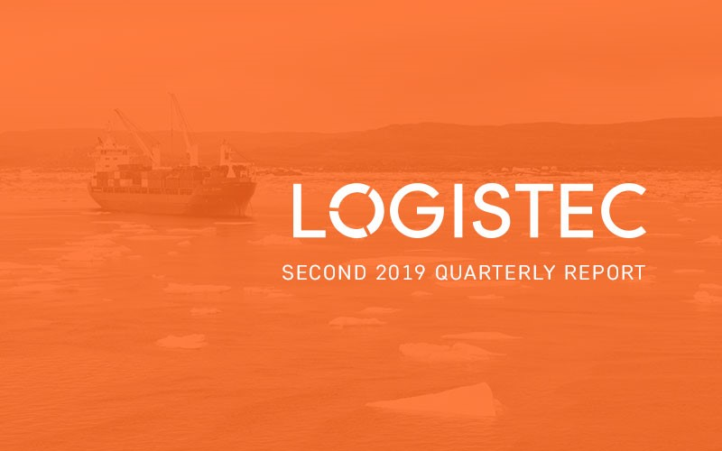 LOGISTEC ANNOUNCES its results for the SECOND quarter of 2019