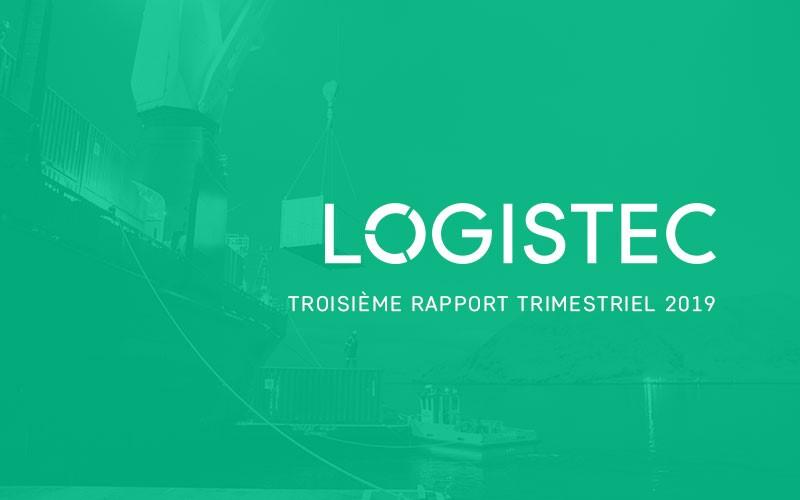 LOGISTEC annonce ses résultats du troisième trimestre de 2019
