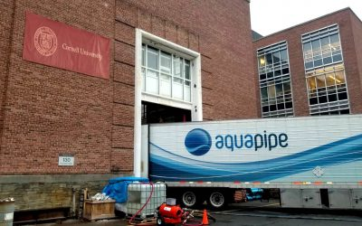 SANEXEN WATER Confirms Aqua-Pipe Liner Capable of Withstanding Extreme Seismic and Flooding Conditions Following Testing at Cornell University's Large-Scale Lifelines Testing Facility