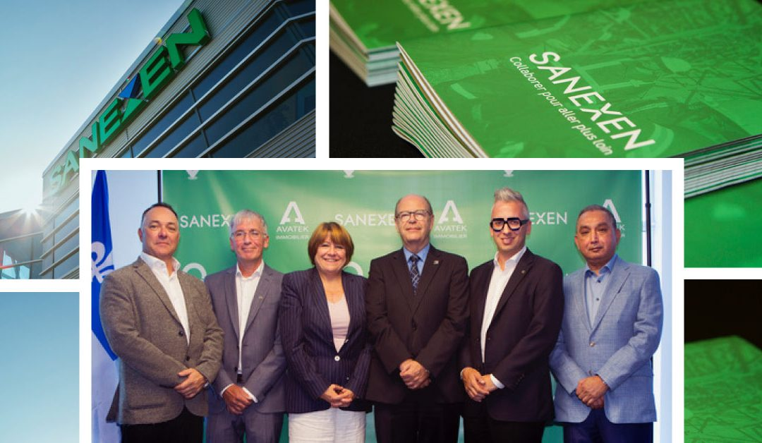 SANEXEN and Avatek Immobilier inaugurate an innovative project for the traceability of residual materials in Quebec