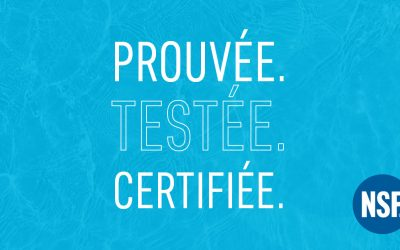 La technologie hydraulique nouvelle génération de LOGISTEC a obtenu la certification NSF 61