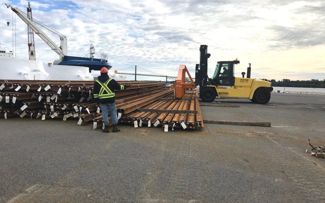 Le port de Johnstown et LOGISTEC renouvellent leur partenariat de manutention de cargaisons pour soutenir les économies locale, nationale et mondiale