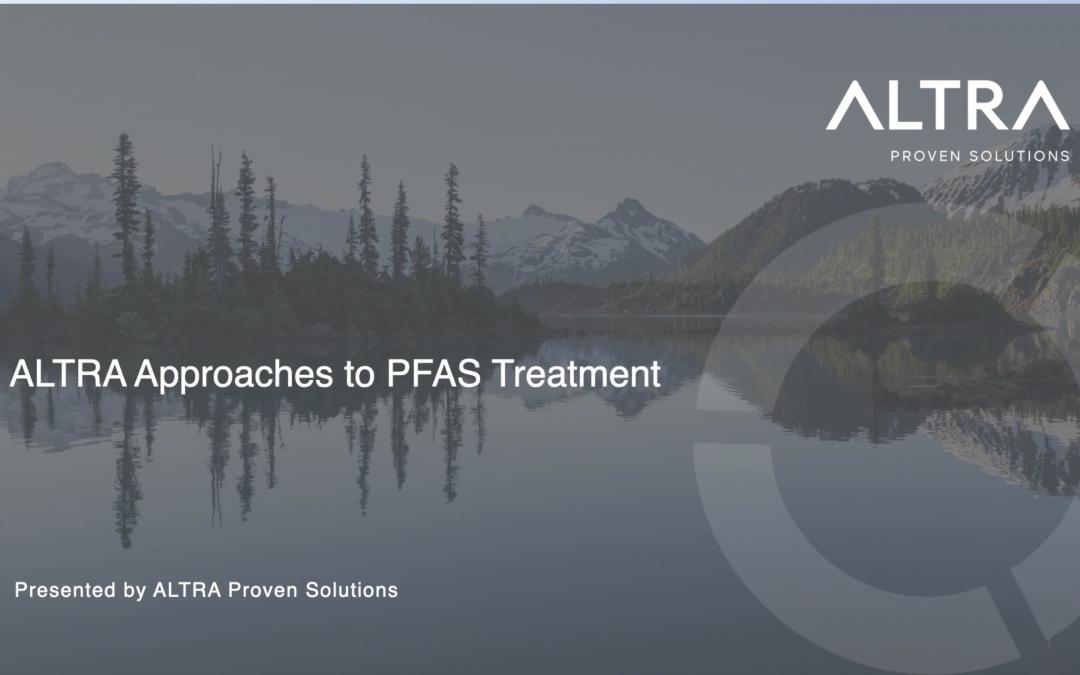 Webinaire: L'approche ALTRA au traitement contre les SPFA