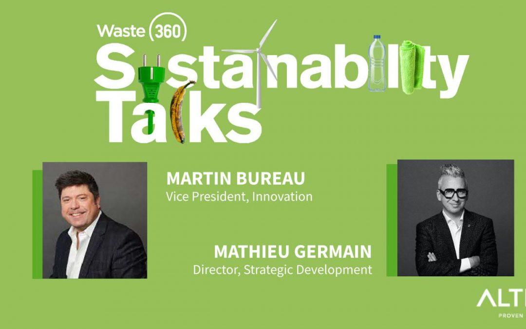 Talking Sustainability at WasteExpo