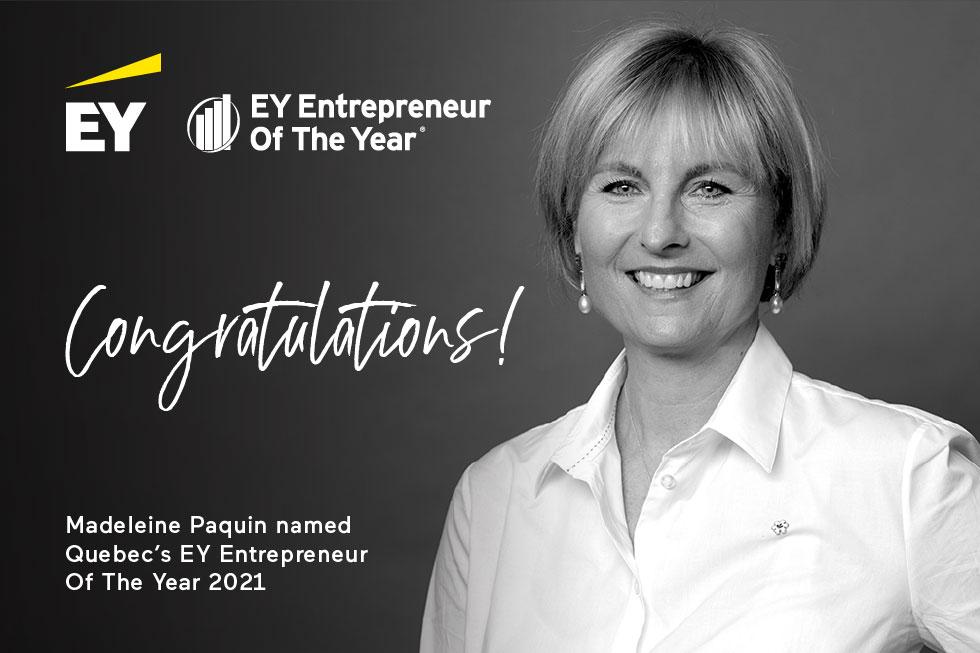 Seven unstoppable Québec entrepreneurs take top EY award