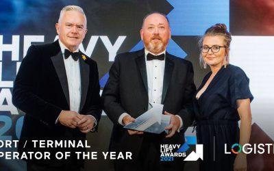 LOGISTEC reçoit le prestigieux titre d'Opérateur de l'année et se voit attribuer le prix « sécurité »  à l'occasion des prix internationaux « Heavy Lift Awards »